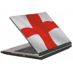 England St Georges flag laptop sticker