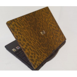 Leopard skin laptop sticker