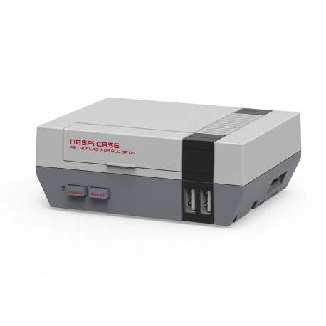 Retro NES case for Raspberry Pi