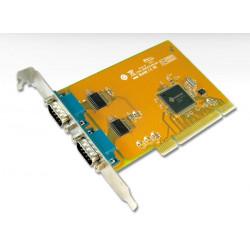 2 port RS-232 PCI Serial com port card