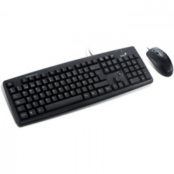 Black keyboard and mouse set (new)