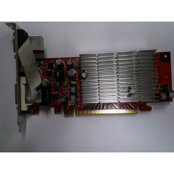 128MB PCI-E graphics card
